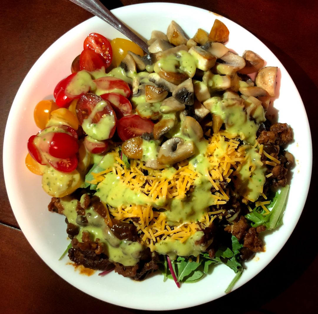 colorful mexibowl for healthy eating